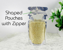 Shaped Spout Pouches With Zipper