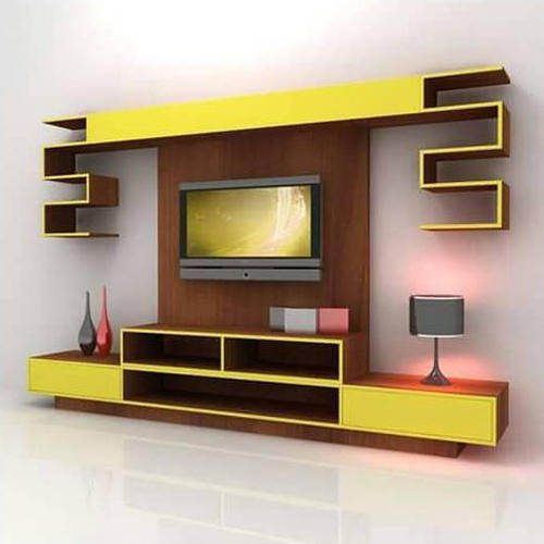 Lcd Tv Stand Designs Wooden : Wooden lcd tv cabinet unit at rs 900 square feet patiala id