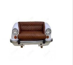 Antique Mild Steel Car Sofa for Hotel