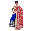 Party Wear Georgette Sarees, 5.5 M (separate Blouse Piece)