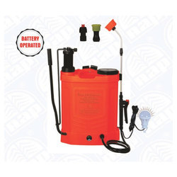 APS-6 Alap Power 2 In 1 Manual Cum Battery Operated Knapsack Sprayer