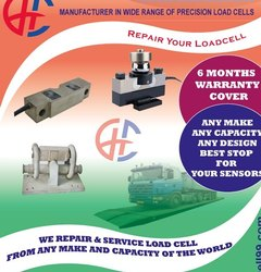 Robust Load Cell Repair, Capacity: Upto 1000 Tons