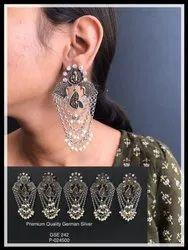 German Silver Earrings GSE 242