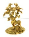 Gold Plated Designer Cow and Calf