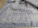 Hand Stitched Handmade Kantha Bed Cover Blanket Throw