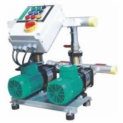 Horizontal Twin Pump Booster(SS Impeller)