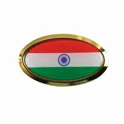 India Flag Metal Badges