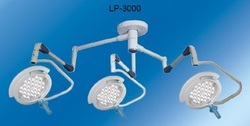 Triple Dome Surgical Ceiling Light