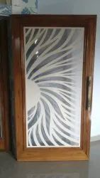Stylish Wooden Door