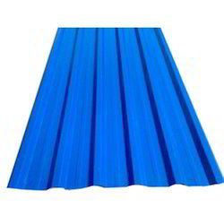 Blue FRP Roofing Sheet