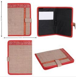 Onego Jute Conference File Folder for Office