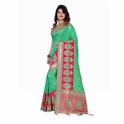 1523 Jacquard Silk Saree