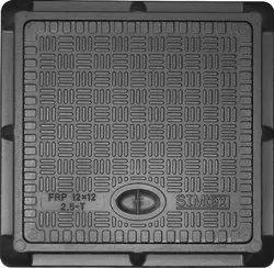 12x12 Inch Simtex FRP Square Manhole Cover
