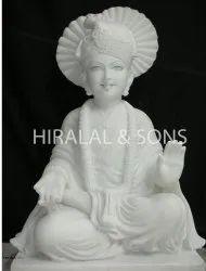 Marble Swami-Narayan Statue