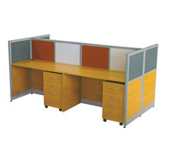 4 Seater Workstation