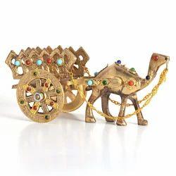 Gemstone Studded Camel Handicraft -184
