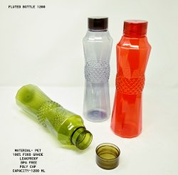 Plastic Flute 1200 mL Bottle