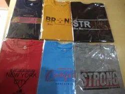 Cotton Printed Mens T Shirts