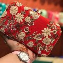 Red Bridal Clutch New Design
