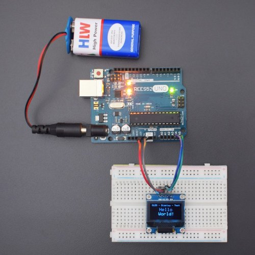 Test a 0 96 Inch OLED Display Using Arduino Uno - Kt998