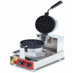 Round Rotate Waffle Machine