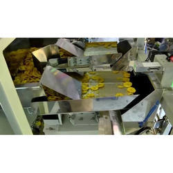 Banana Chips Packing Machines with Tray Counwere