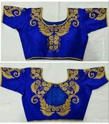 3085e7d030 Unstitched Black Embroidered Blouse, Rs 450 /piece, Glam Elegance ...