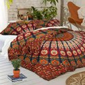 Tapestry Mandala Indian 2 Pillow Set Duvet Cover
