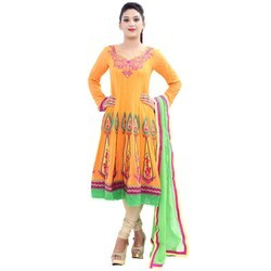 Georgette Wedding Wear Ladies Anarkali Suit