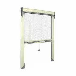 Poly Cotton White Pull Down Mosquito Screen, for Window