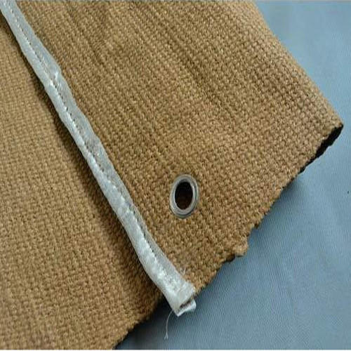Ceramic Vermiculite Coted Cloth - Ceramic Fiber Cloth Manufacturer