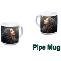 Ceramic Pipe Mug, For Home And Office