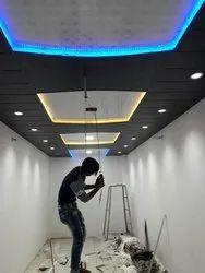 Shri PVC & cement Fall Ceiling, Thickness: 6.5 mm