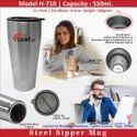 Steel Sipper Mug H-710