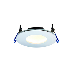 8W LED  Round Recessed Plate