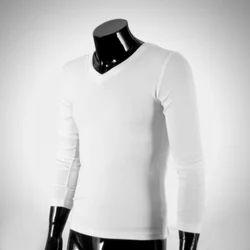 Women Printed Mens Long Sleeve V Neck T Shirt
