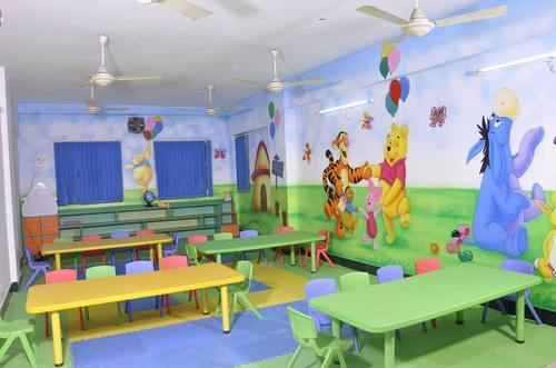 Playschool Cartoon Painting Works in Vijay Nagar, Indore, School ...