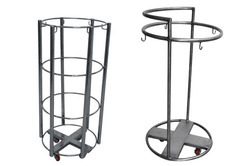 TGPE Stainless Steel Linen Trolley, 50-100