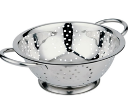 Silver Round Colander, Size/Dimension: 1 To 2 Letter