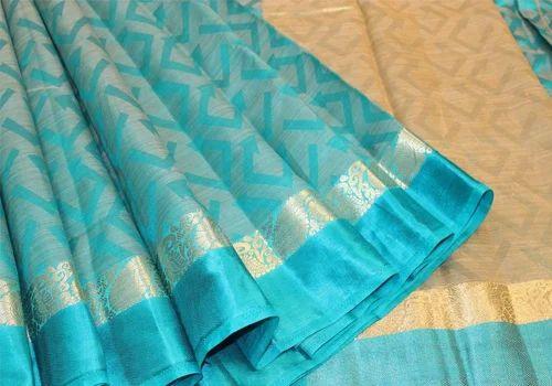 sareeszone Party Wear Tussar Silk Nakshatra Sarees, 6.3 m (with blouse piece), Rs 950 /piece   ID: 20373528091