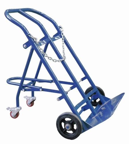 Double Gas Cylinder Trolley Capacity 0 200 Kg Rs 6000