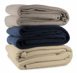 Heavy Weight Plain Polar Fleece Blankets
