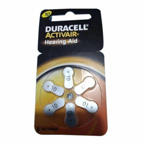 10 Duracell Activair Hearing Aid Batteries