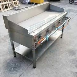 Gas Griddle Standing Type