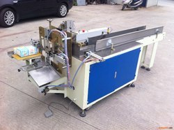 Semi Automatic Napkin Packing Making Machine