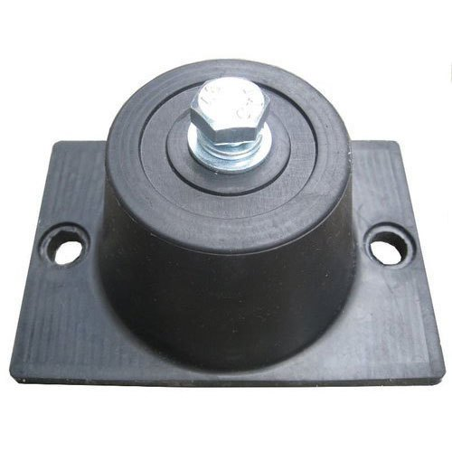 Black Rubber Mounting Pads