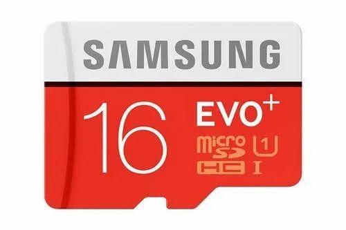 SAMSUNG MicroSD 16GB  Memory Card EVO