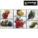 Orientbell Tiles Orientbell OTF FRUIT MULTI Decorative Wall Tiles, Size: 300X600 mm