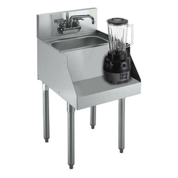 Stainless Steel Blender Station With Sink