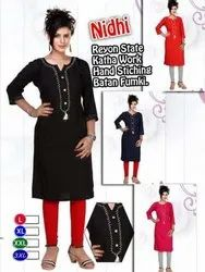 3/4th Sleeves Ladies Formal Kurti